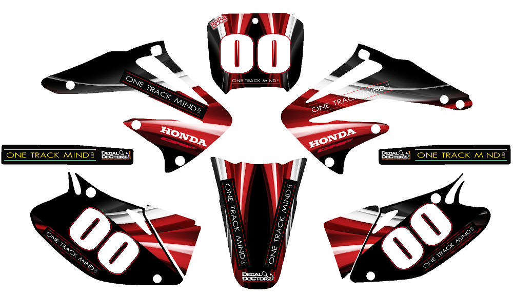 One Track Mind Graphic Kit Dec Dirtbike Otm Kit 225 00 Decal