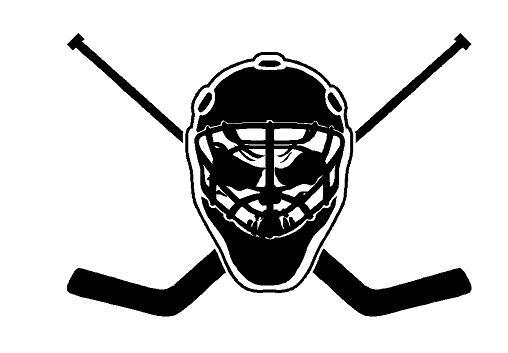 Goalie Mask Skull Decal Dec Skull Goalie Mask 8 00 Decal