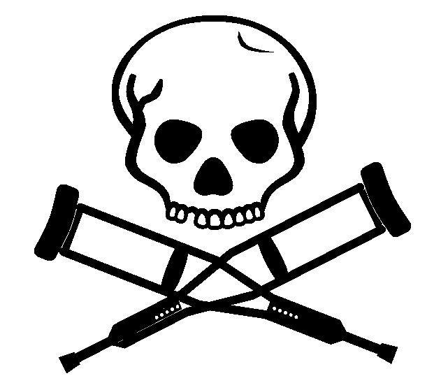 Jackass Movie Skull Decal Dec Skulljackass