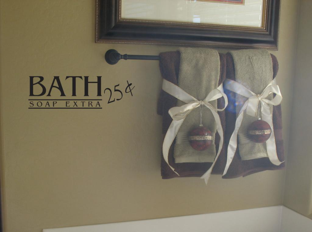 Bath 25c Wall Decal